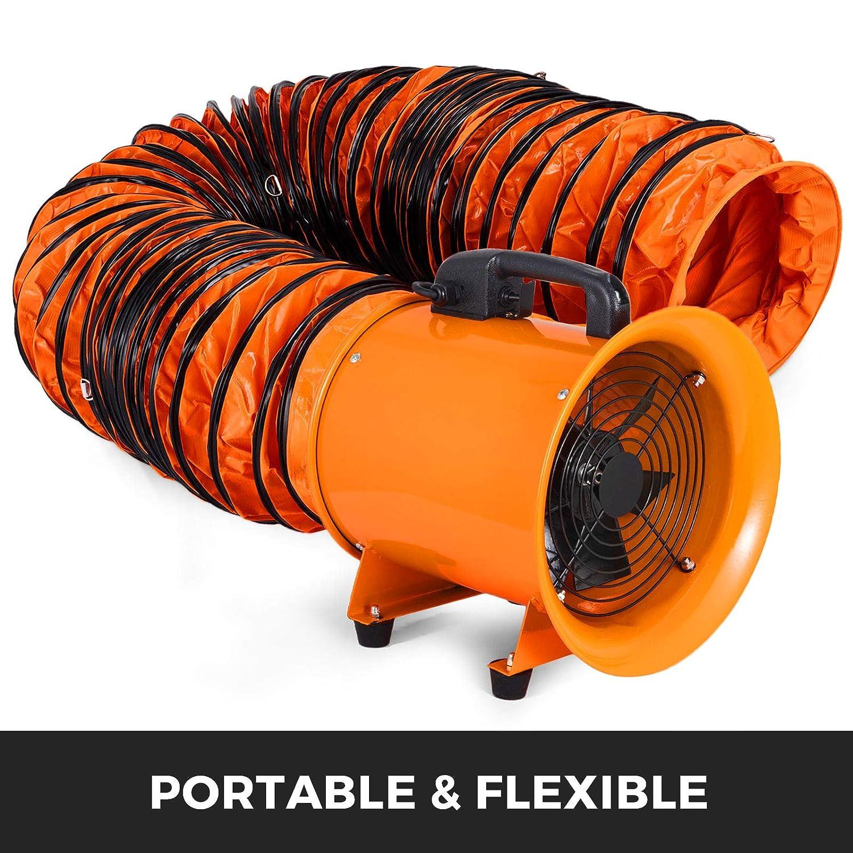 Mophorn Conducto Flexible de PVC Ventilador 15 m Di/ámetro de 35,6 cm Manguera de Conducto Flexible de PVC Conducto de Ventilaci/ón Tubo de Manguera de Ventilaci/ón Conductos de Aire de PVC Ign/ífugo