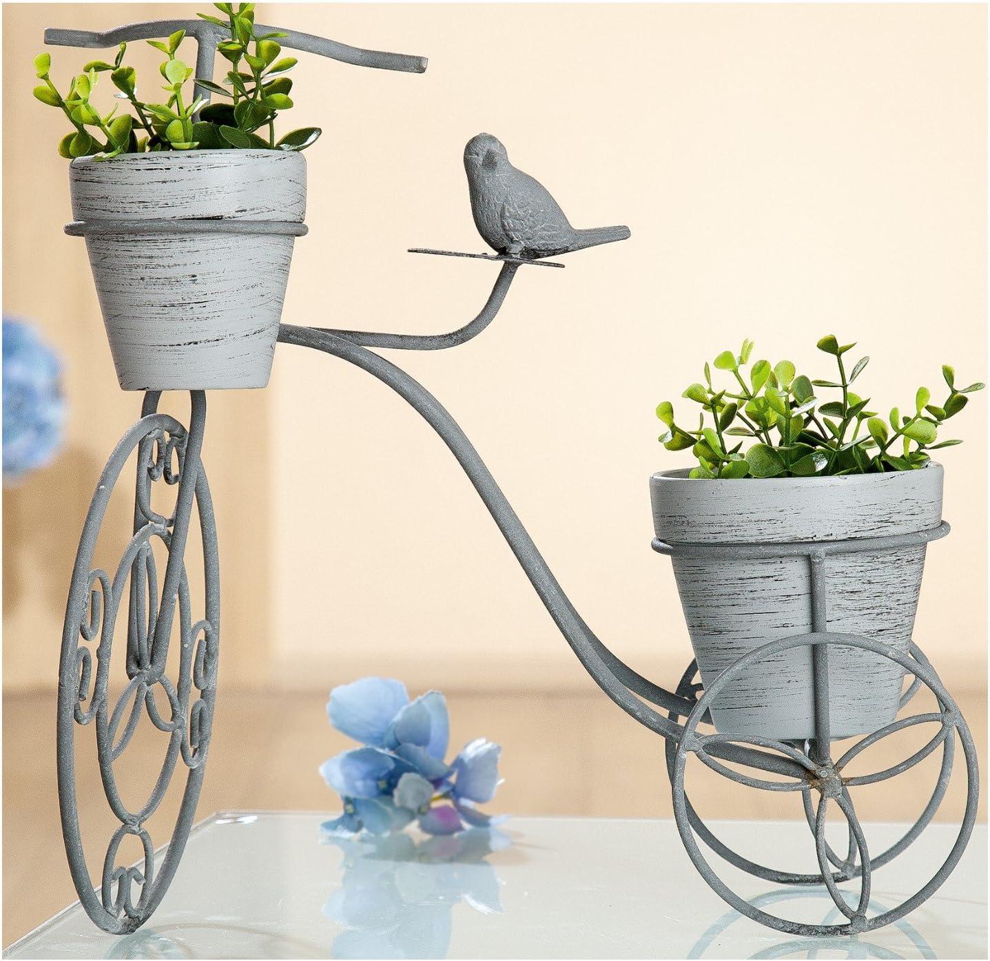 Gilde Macetero Bicicleta Olla Macetero Maceta Incluye ollas, Color ...