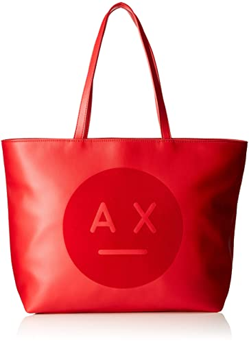 04f9bb6009f Armani Exchange Ax Face Logo Tote Bag