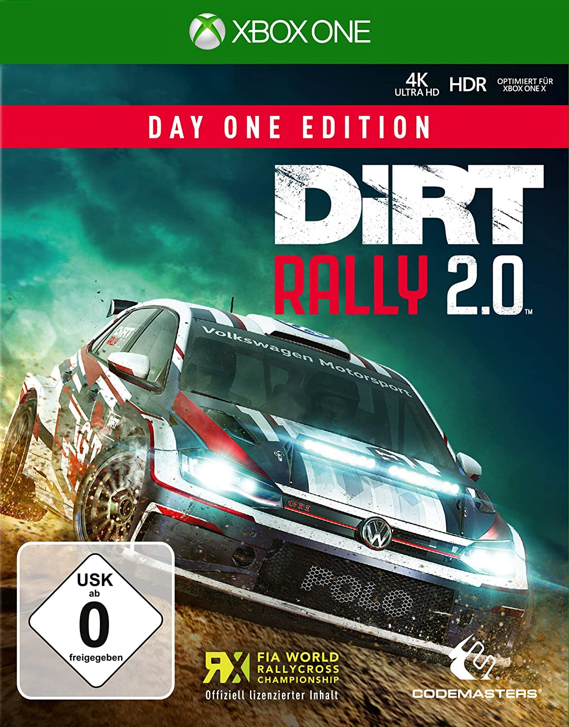 DiRT Rally 2.0 Day One Edition - Xbox One [Importación alemana ...