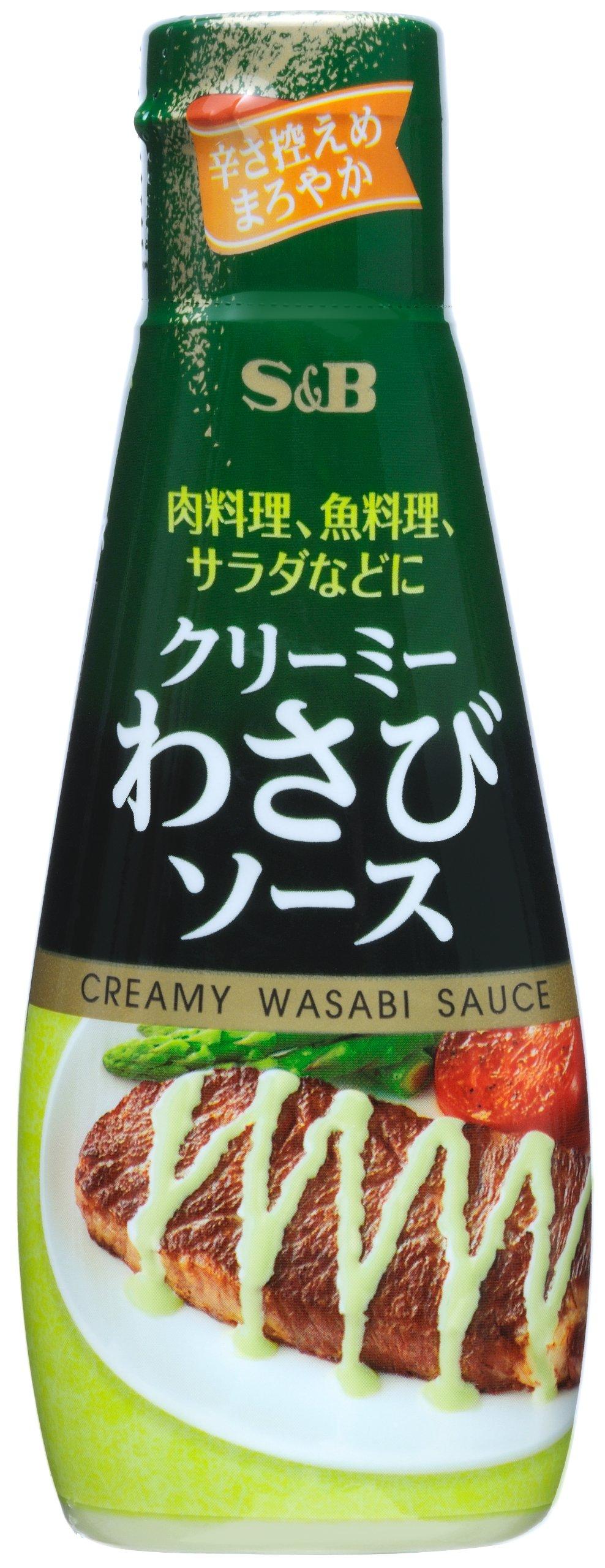 S & B 110gX5 or creamy wasabi sauce