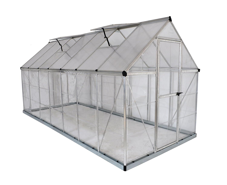 Amazon.com : Palram Nature Series Hybrid Hobby Greenhouse, 6\' x 14 ...