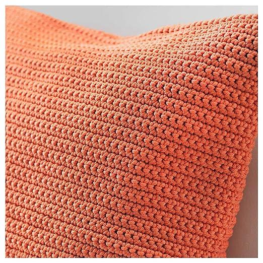 IKEA ASIA SOTHOLMEN - Funda de cojín, Color Naranja: Amazon ...