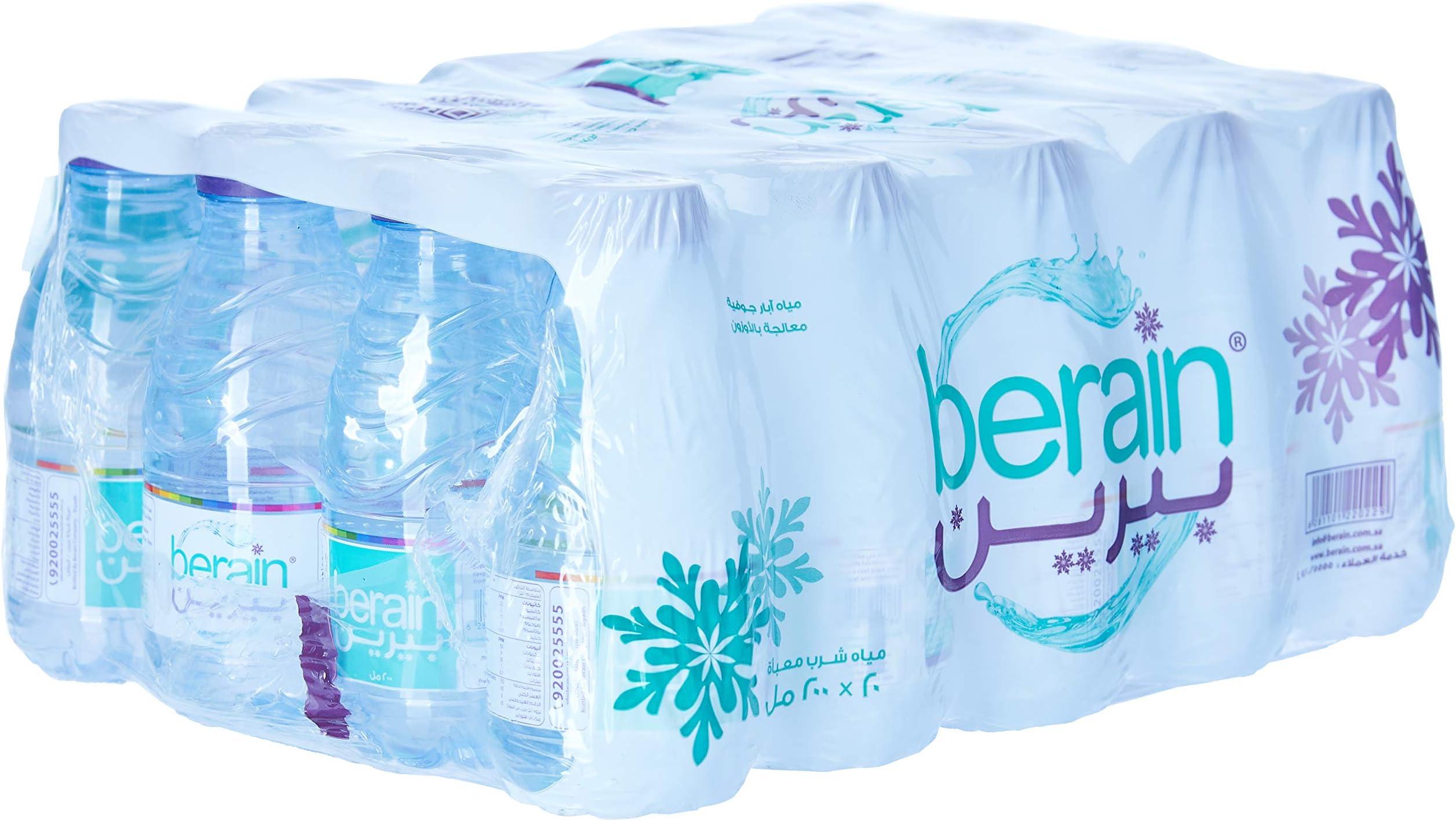 سعر بيرين عبوة مياه مقاس 20 200 ملليلتر فى السعودية بواسطة امازون السعودية كان بكام