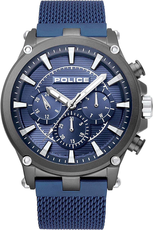 Police Reloj de Pulsera 15920JSBL/03MM