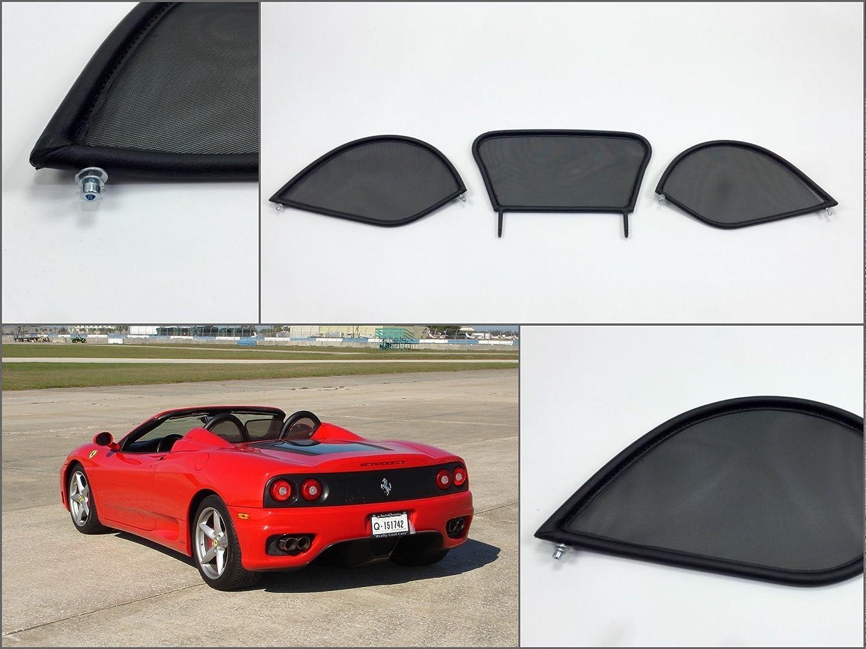 Filet Anti-Remous Coupe de vent Ferrari 360 Dé flecteur de Vent K & R
