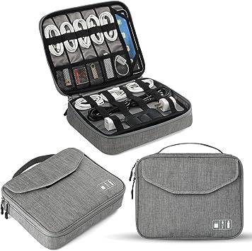 Travel Handbag Large Capacity USB Cable Organizer Electronic Accessories Bag