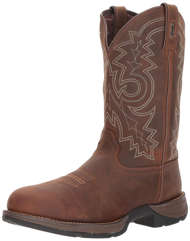 e4582b56517 Durango Men's Rebel Waterproof Western Work Boot Steel Toe