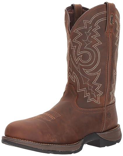 e71156251e6 Durango Men's Rebel Waterproof Western Work Boot Steel Toe