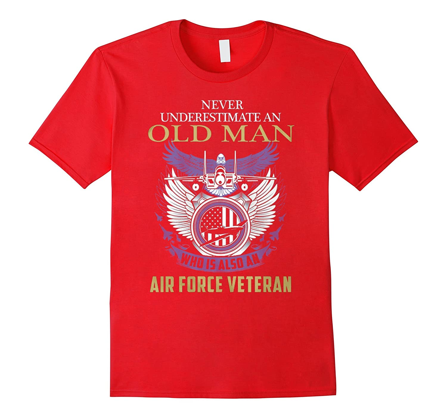 Airforce Veteran Great Gift For Any Veteran-TD