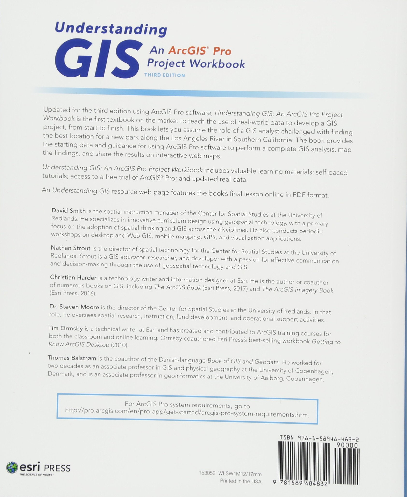 Understanding Gis An Arcgisa Pro Project Workbook Amazon De