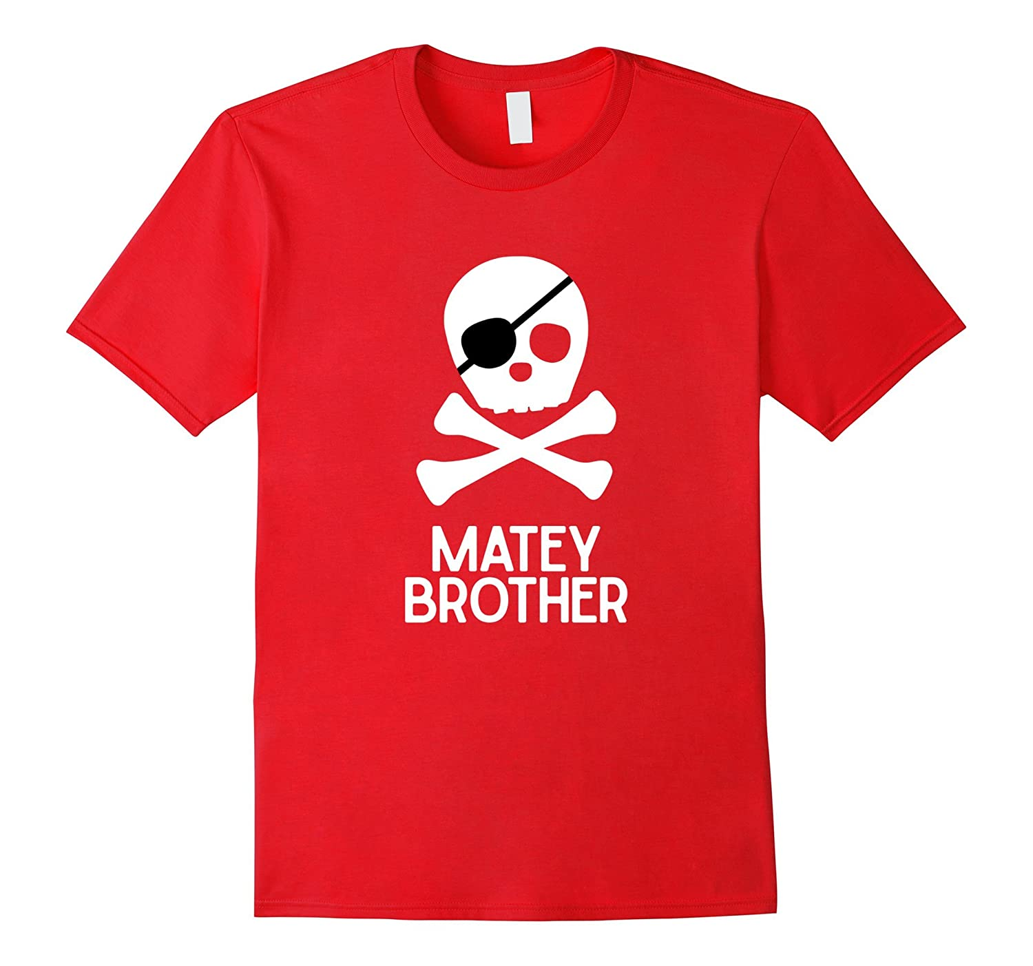 Matey Brother Pirate Shirt for Kids Family Pirate Shirts-Vaci