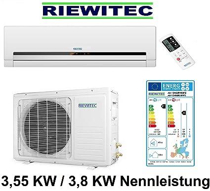 Inverter split aire acondicionado RIEWITEC AUS-12H53R150PZ, (3.55/3.8 KW refrigeración -