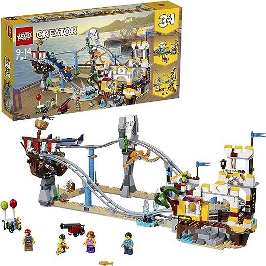 LEGO Creator - Montaña rusa pirata (31084): Amazon.es: Juguetes y ...