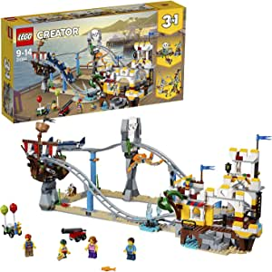 LEGO Creator 3in1 Pirate Roller Coaster 31084 Playset Toy