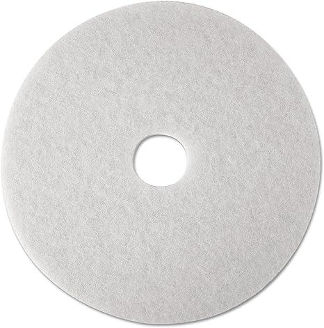 Polishing Floor Pad White 5 Pack 16 in High Gloss Polish