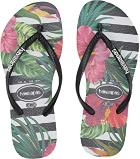 56dfb31f1d920 Havaianas Kids Baby Girl s Slim Tropical Floral Flip-Flop (Toddler Little  Kid