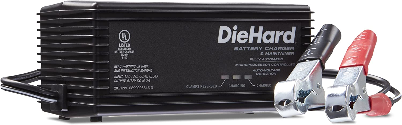 DieHard 6/12V Shelf Smart Battery Charger