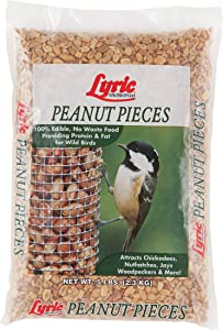 Lyric 2647464 Peanut Pieces Wild Bird Food, 5 lb