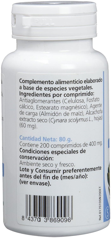 Sanon Alcachofa - 2 Paquetes de 200 Cápsulas: Amazon.es: Salud y cuidado personal