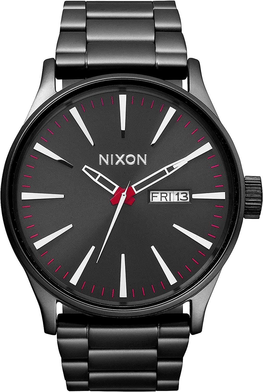 Nixon Reloj Analógico para Hombre de Cuarzo con Correa en Acero Inoxidable A356-131-00