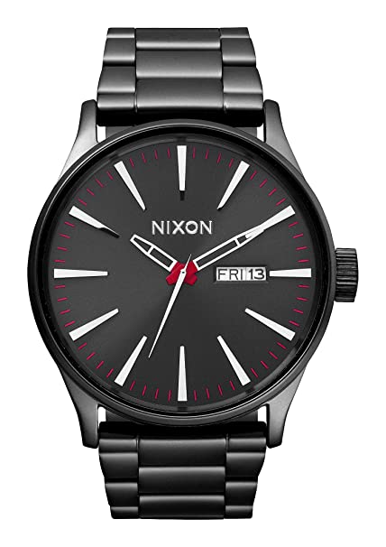 6a923fb81 Nixon Men's Analogue Quartz Watch with Stainless Steel Bracelet -  A356-131-00