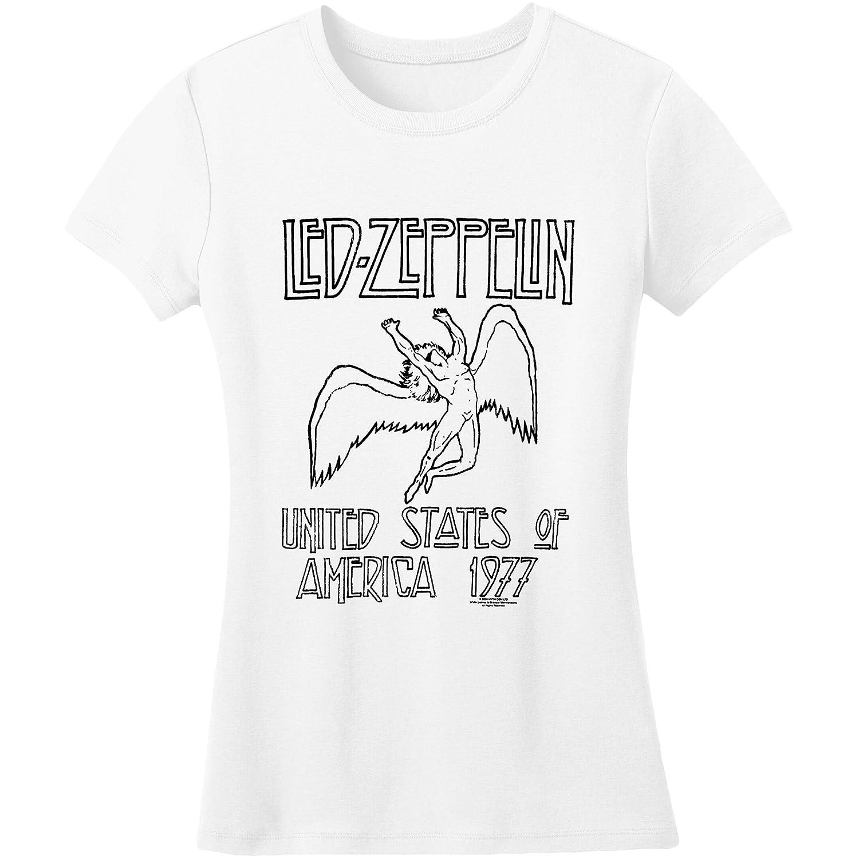 445f6691050 FEA Led Zeppelin - Icarus Juniors T-Shirt: Amazon.co.uk: Clothing