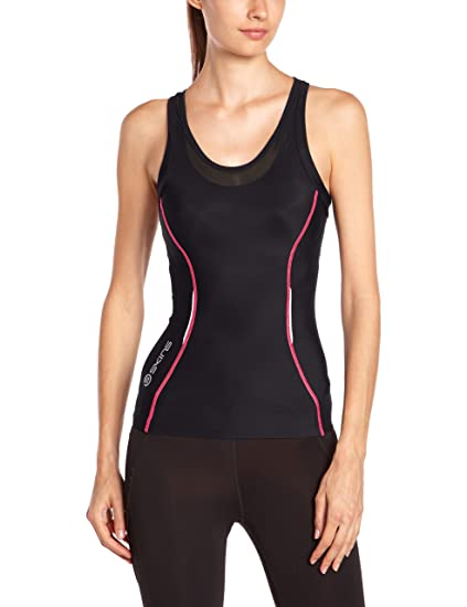 Skins Womens A200 Compression Speed Crop Top