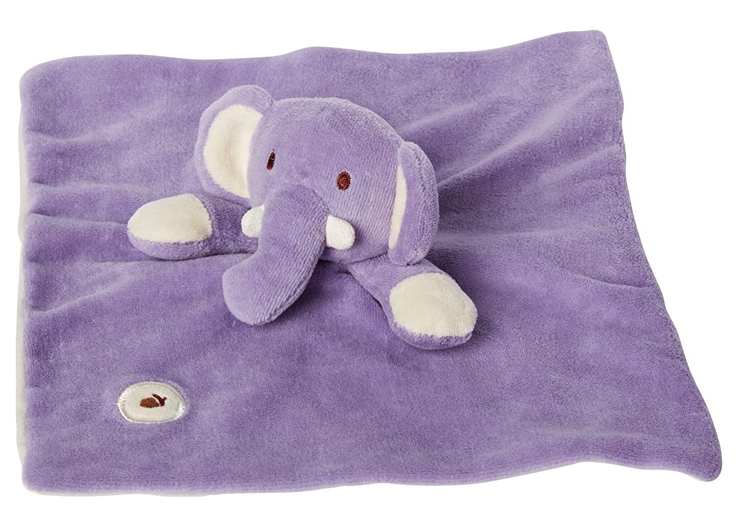Amazon.com: Mi Natural Lovie manta, morado elefante: Baby