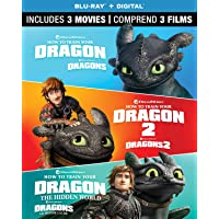 How to Train Your Dragon: 3-Movie Collection [Blu-ray + Digital] (Bilingual)