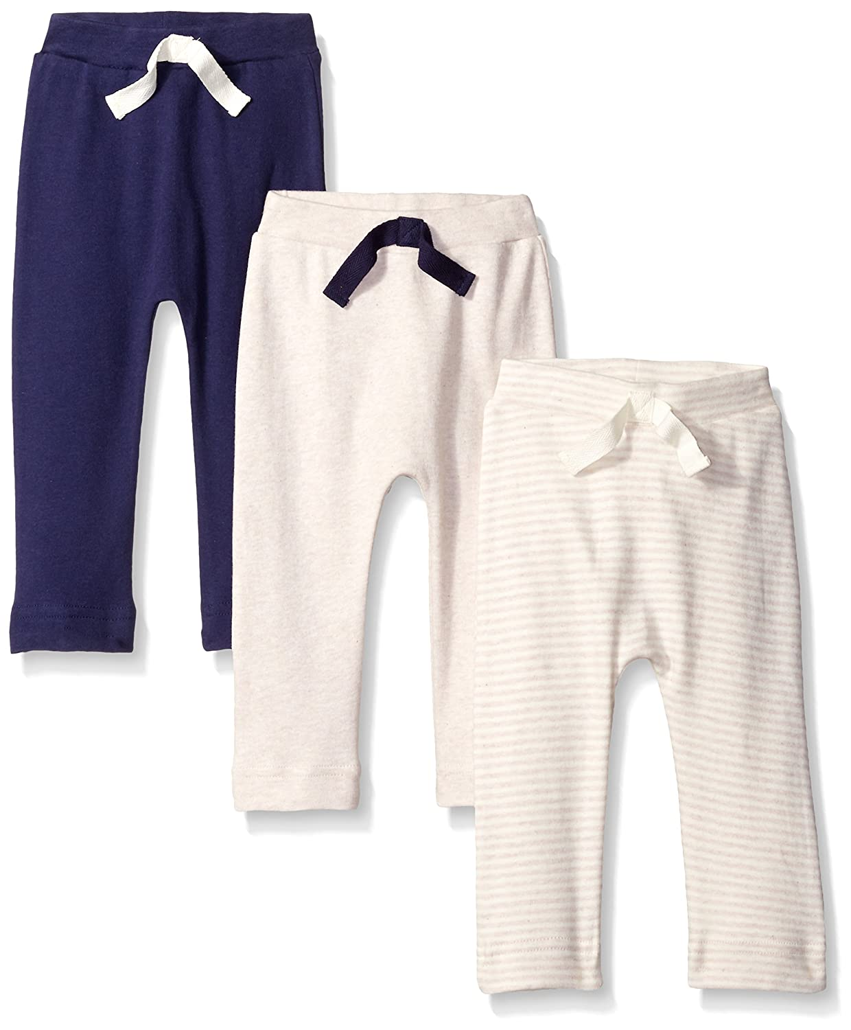 Touched by Nature PANTS ユニセックスベビー M oatmeal/navy B01M9HSCYY