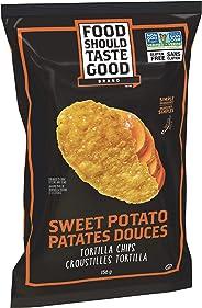 Food Should Taste Good Gluten Free Sweet Potato Tortilla Chips, 156 Grams