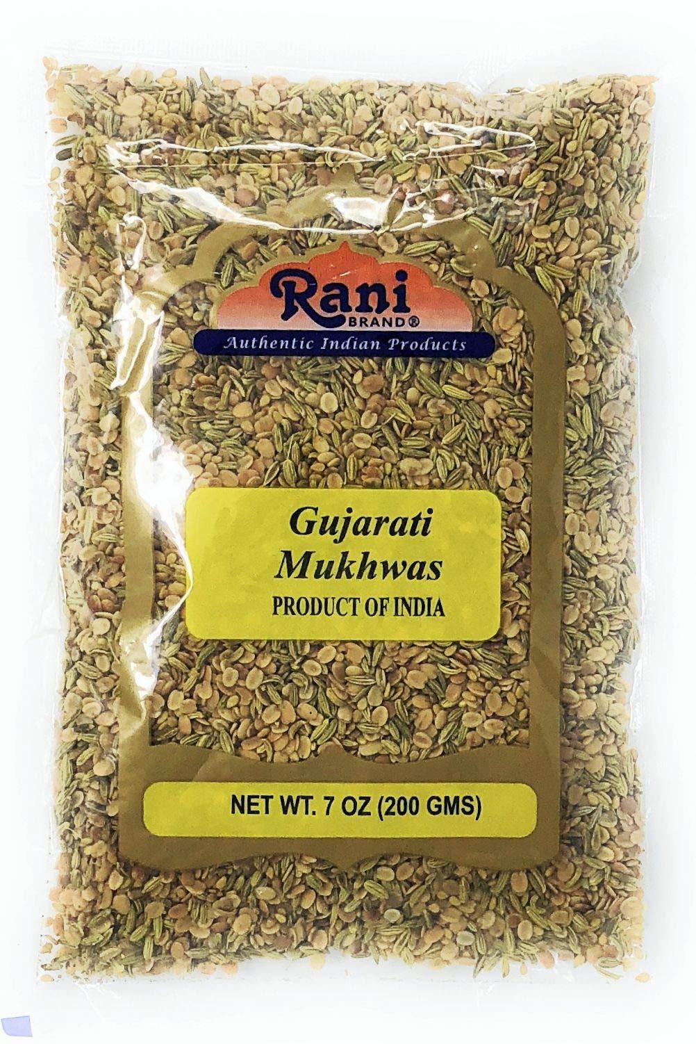 Rani Gujarati Mukhwas (Special After Dinner Mix) 200g (7oz) ~ Vegan   No Colors   Indian Origin