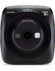 Fujifilm Instax SQUARE SQ 20 Hybride Sofortbildkamera, schwarz