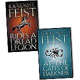 Raymond E. Feist Demonwar Saga 2 Books Collection Pack Set RRP: 15.98 (Rides...