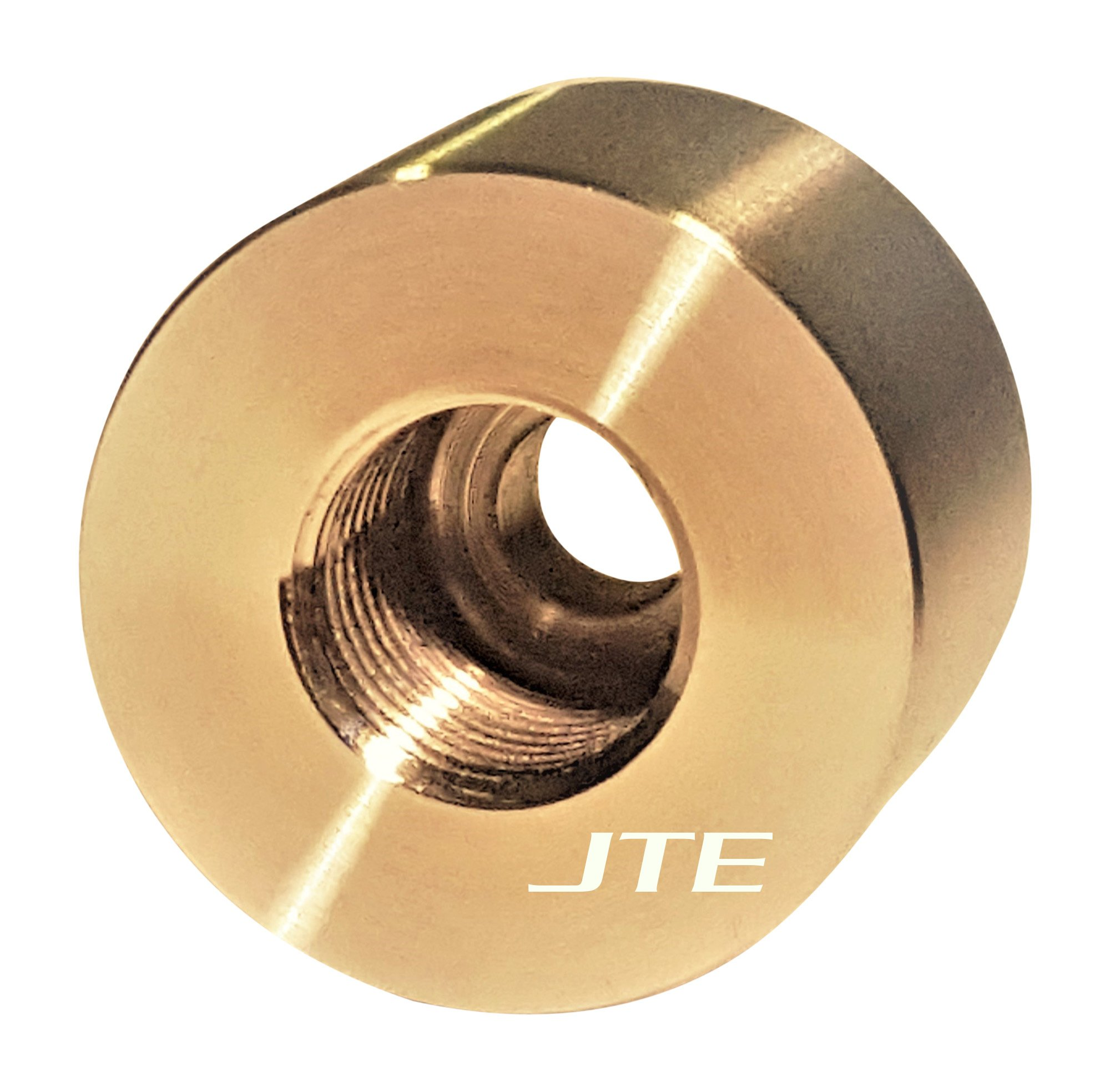 JTE Products 12MMEGT - 12mm X 1.25 Premium EGT Sensor Repair Fitting/Weld Bung - CNC 304 Stainless - for Ford Powerstroke and Ram Cummins Diesels - Made in USA