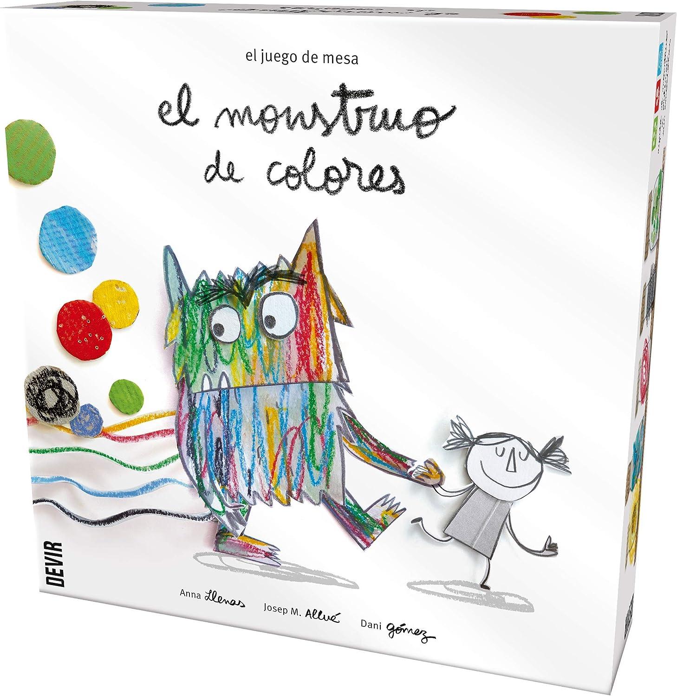El monstruo de colores, edición en castellano: Amazon.es: Juguetes ...