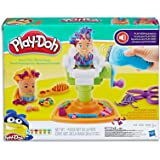 Play-Doh - Buzz N Cut Barber Shop Playset - Grow, Cut, Style and Shave - Inc Acc & 5 Tubs of Dough - Creative Kids Toys - Ages 3+