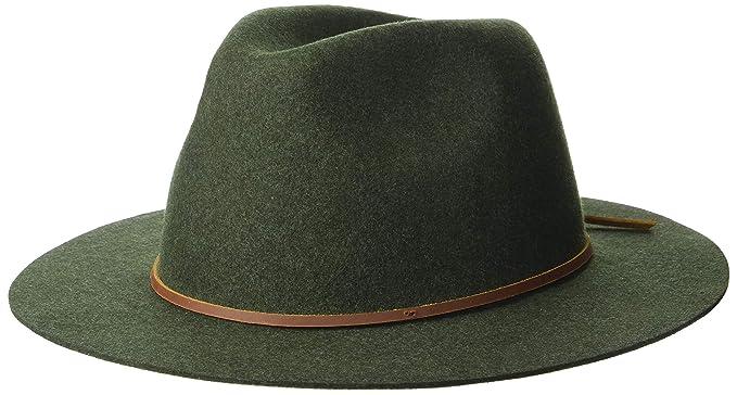 331e426da56a0 Amazon.com  Brixton Men s Wesley Fedora  Clothing