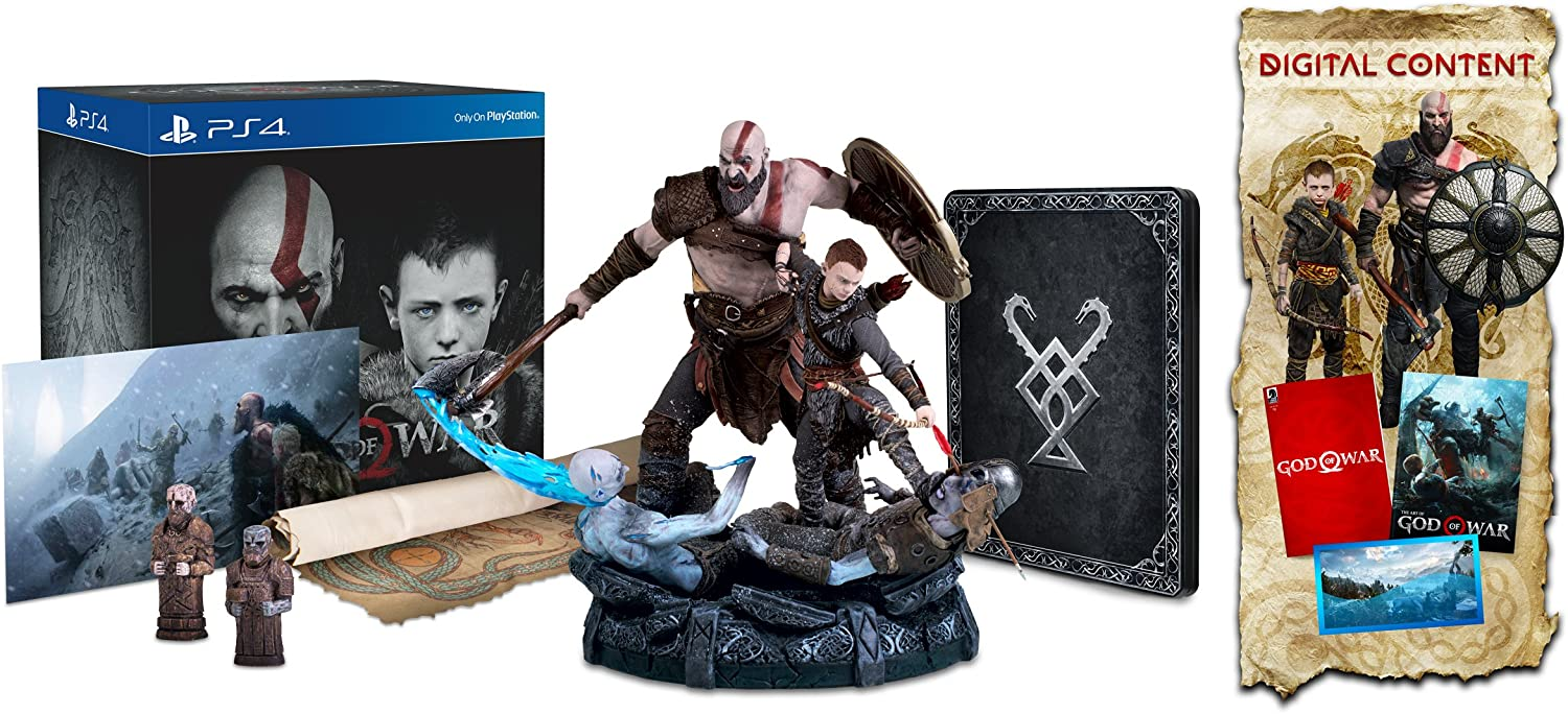Amazon com: God of War Collector's Edition - PlayStation 4
