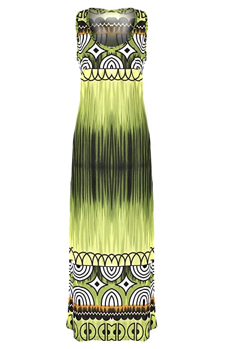 s Bohemian Printed and Patterned Spring and Summer Dress