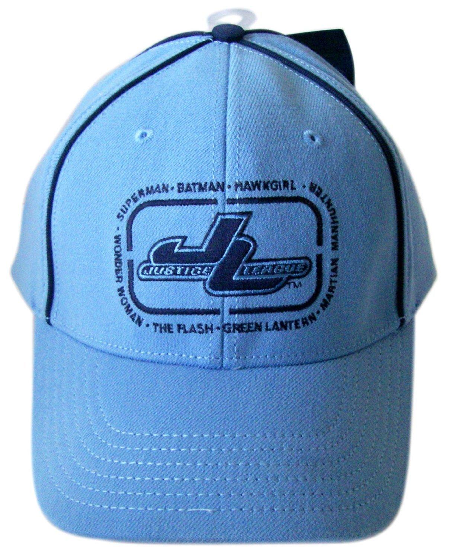 Baby bluee DC Justice League Kids Adjustable Hat