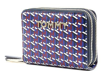 Tommy Hilfiger icónico Tommy Double Zip Around Wallet Monogram