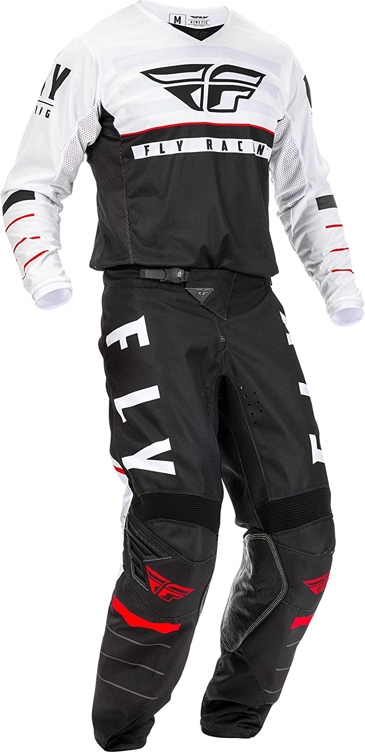 Kinetic Red//White Fly Racing MTB Mountain Bike BMX MX Youth Jersey