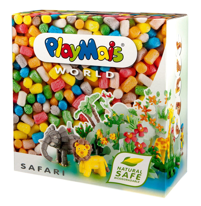 Loick Biowertstoff PlayMais World Safari Set de modelado más de piezas importado