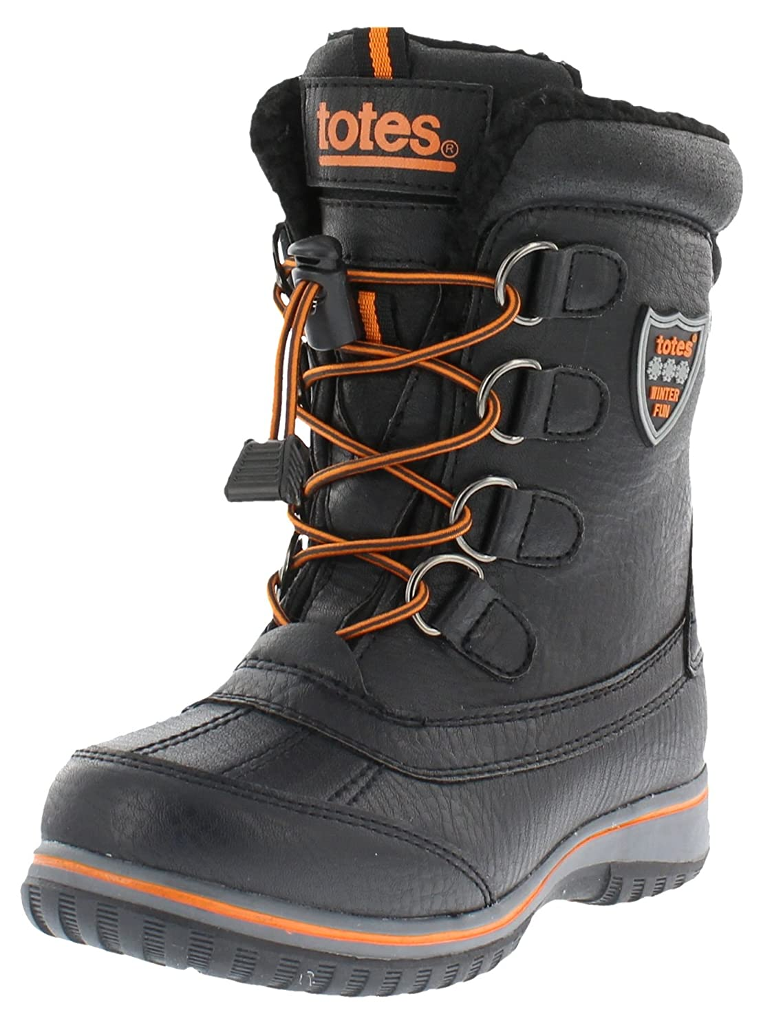 totes Boys Buster Waterproof Snow Boot