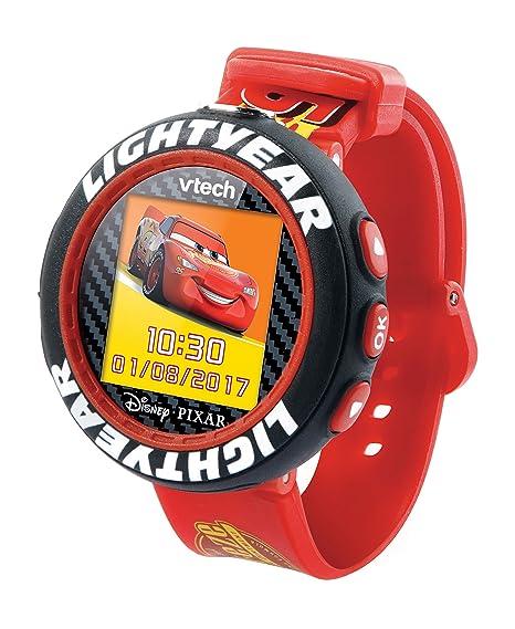 VTech Cars 3 - Electrónica para niños (Kids smartwatch, Negro, Rojo, Botones, 5 año(s), Niño, 12 año(s))