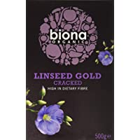 Biona Organic - Linseed Gold Cracked - 500g