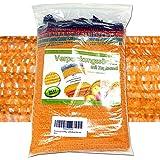 Imballaggio sacchi 10 kg 38 x 60 cm, Retina Per patate con nastro e passamano (20 prezzi)