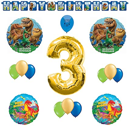 Amazon.com: Good Dinosaur suministros para fiestas 3 A ...